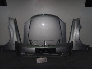 Chevrolet Nubira 2003-2005 μετώπη εμπρός κομπλέ ασημί