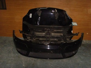 VW Golf plus 2006 μετώπη εμπρός κομπλέ μαύρο