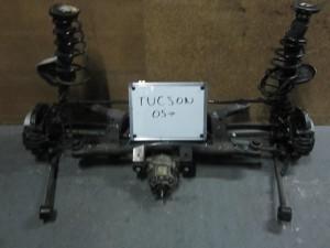 Hyundai tucson 04 άξονας