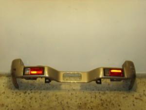 Mitsubishi galloper 98 πίσω προφυλακτήρας ασημί σκούρο