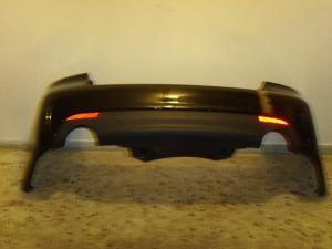 Opel antara 07 πίσω προφυλακτήρας μαύρο