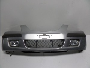 Mazda premacy 99-04 προφυλακτήρας εμπρός ασημί
