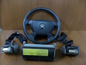 Mercedes 208 I σειρά 97-02 airbag μαύρο