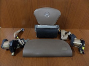 Mercedes ML w163 98-05 airbag μπέζ καφέ