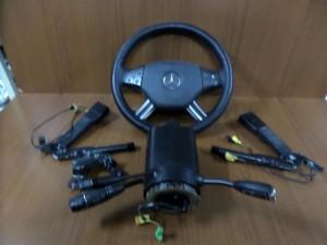 Mercedes ML w164 05-11 airbag μαύρο