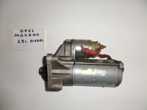 Opel movano 02-06 1.9cc diesel μίζα