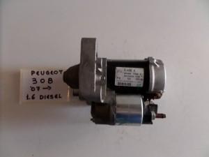 Peugeot 308 1.6cc HDi 08 μίζα