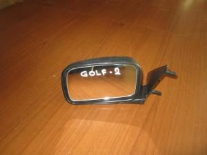 VW golf 2 88-91 καθρέπτης απλός αριστερός άβαφος