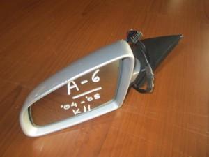Audi A6 04-08 ηλεκτρικός καθρέπτης αριστερός ασημί (11 καλώδια)