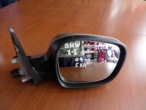 BMW X1 E84 2009-2015 ηλεκτρικός καθρέπτης δεξιός ασημί (5 καλώδια)