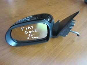 Fiat 500 L 2012 ηλεκτρικός καθρέπτης αριστερός μαύρος (5 καλώδια)