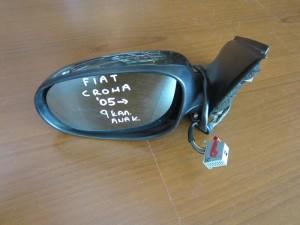 Fiat croma 05 ηλεκτρικός ανακλινόμενος καθρέπτης αριστερός ανθρακί (9 καλώδια)