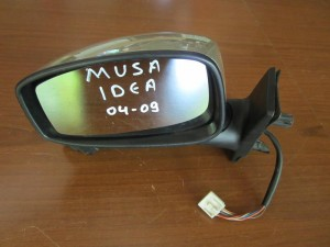 Fiat idea-Lancia musa 04-09 ηλεκτρικός καθρέπτης αριστερός χρυσαφί