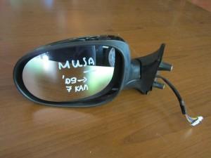 Fiat idea-Lancia musa 09 ηλεκτρικός καθρέπτης αριστερός μαύρος (7 καλώδια)