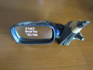 Fiat punto 95-99 5θυρο μηχανικός καθρέπτης αριστερός σκούρο μπλέ