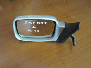 Ford escort 4 86-90 καθρέπτης απλός αριστερός ασημί