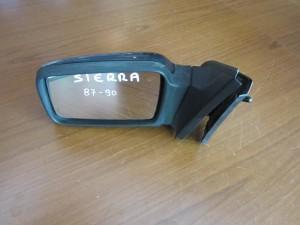 Ford siera 87-90 καθρέπτης απλός αριστερός μπλέ σκούρο
