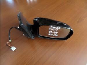 Honda civic 01-04 2θυρο-5θυρο ηλεκτρικός καθρέπτης δεξιός μαύρος