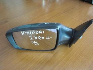 Hyundai IX20 2011 ηλεκτρικός καθρέπτης αριστερός γκρί (5 ακίδες)