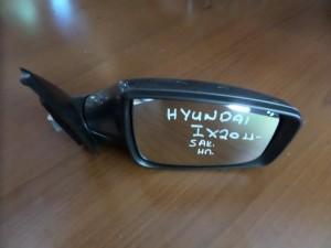 Hyundai IX20 2011 ηλεκτρικός καθρέπτης δεξιός γκρί (5 ακίδες)