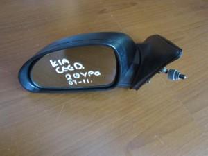 Kia Ceed 2πορτο 2007-2013 μηχανικός καθρέπτης αριστερός άβαφος