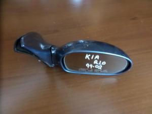Kia Rio 1999-2002 ηλεκτρικός καθρέπτης δεξιός μπλέ-ραφ