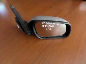 Mazda 2 02-07 ηλεκτρικός καθρέπτης δεξιός ασημί