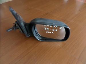 Mazda 2 02-07 μηχανικός καθρέπτης δεξιός άβαφος