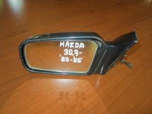 Mazda 323 82-85 μηχανικός καθρέπτης αριστερός σκούρο πράσινο