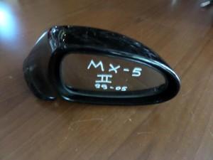 Mazda mx5 99-05 καθρέπτης δεξιός μαύρος
