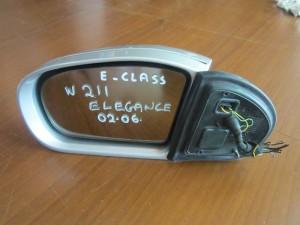 Mercedes E class w211 elegance 02-06 καθρέπτης αριστερός ασημί