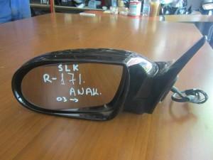Mercedes SLK R171 03 καθρέπτης ηλεκτρικός ανακλινόμενος αριστερός μαύρος
