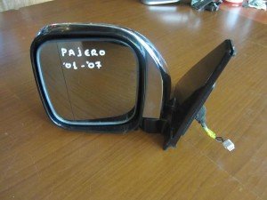 Mitsubishi Pajero 01-07 ηλεκτρικός καθρέπτης αριστερός χρώμιο (7 καλώδια)