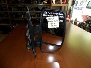 Opel movano 03 ηλεκτρικός καθρέπτης δεξιός άβαφος (7 καλώδια)