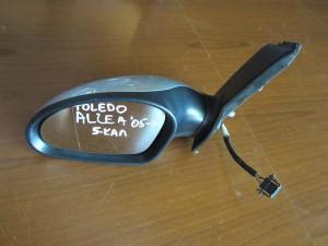 Seat toledo-altea 05 ηλεκτρικός καθρέπτης αριστερός ασημί (5 καλώδια)