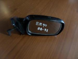 Toyota corolla EE-90 88-91 μηχανικός καθρέπτης δεξιός άβαφος
