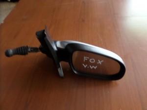 VW fox 05 μηχανικός καθρέπτης δεξιός ασημί
