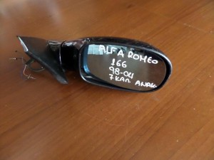 Alfa romeo 166 98-04 ηλεκτρικός ανακλινόμενος καθρέπτης δεξιός μολυβί (7 καλώδια)