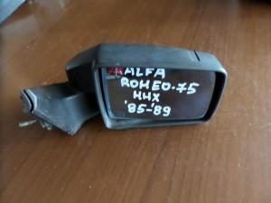 Alfa romeo 75 85-89 μηχανικός καθρέπτης δεξιός άβαφος