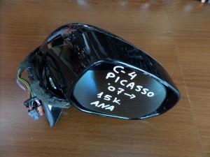 Citroen C4 Picasso 2007-2013 ηλεκτρικός ανακλινόμενος καθρέπτης δεξιός μαύρος (15 καλώδια)