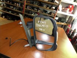 Fiat ducato-citroen jumper-peugeot boxer 2006-2017 απλός καθρέπτης με φλάς δεξιός άβαφος