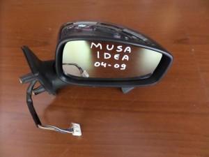Fiat idea-Lancia musa 04-09 ηλεκτρικός καθρέπτης δεξιός γκρί
