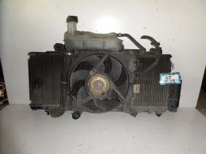 Fiat punto GT 95-99 turbo ψυγείο κομπλέ (νερού-air condition-βεντιλατέρ)