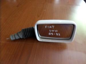 Fiat uno 89-93 μηχανικός καθρέπτης δεξιός άσπρος
