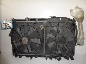 Honda CRV 02-07 2.0cc diesel ψυγείο κομπλέ (νερού-air condition-βεντιλατέρ)