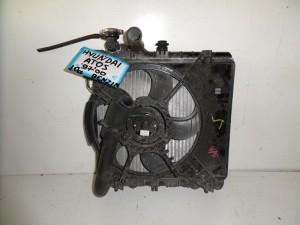 Hyundai atos 97-00 1.0cc ψυγείο κομπλέ (νερού-βεντιλατέρ)