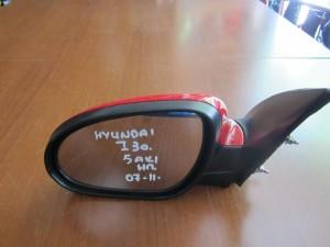 Hyundai i30 07-11 ηλεκτρικός καθρέπτης αριστερός κόκκινος (5 ακίδες)