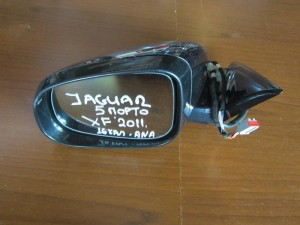 Jaguar XF 2011 ηλεκτρικός ανακλινόμενος καθρέπτης αριστερός μαύρος (16 καλώδια)