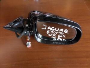 Jaguar XF 2011 ηλεκτρικός ανακλινόμενος καθρέπτης δεξιός μαύρος (10 καλώδια)