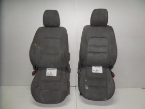 Mazda 6 02-08 κάθισμα εμπρός με airbag αριστερό-δεξί ανοιχτό γκρί